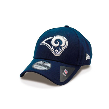 NEW ERA los angeles rams 9forty adjustable american football cap [navy]