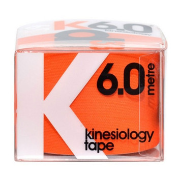 D3 kinesiology tape K6.0  (single) 50mm x 6m [orange]