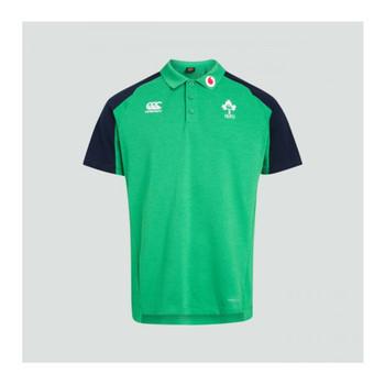 CCC Ireland rugby Vapodri Cotton Pique Polo [green marl]