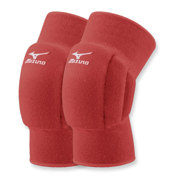 MIZUNO volleyball team knee pads [red]