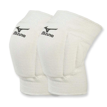 MIZUNO volleyball team knee pads [white]