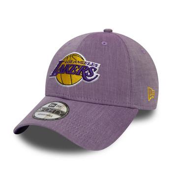 NEW ERA essential LA lakers 940 cap [chambray purple]