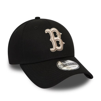 NEW ERA adjustable boston red sox MLB 940 cap [black]