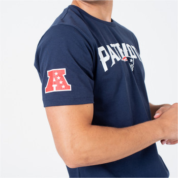 NEW ERA new england patriots logo NFL t-shirt [navy]