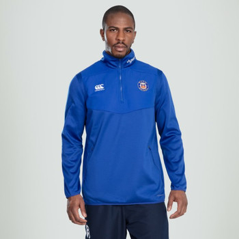 CCC Bath rugby thermoreg 1/4 zip top [blue]