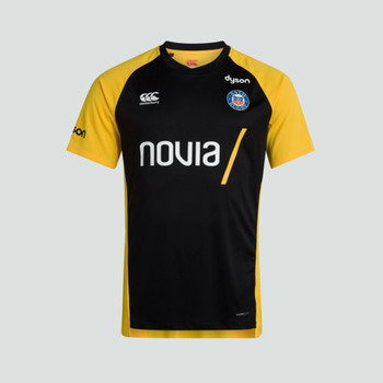 CCC bath rugby vapodri superlight t-shirt [black/gold]