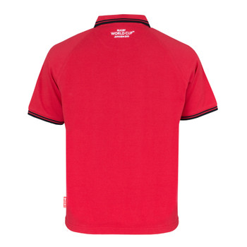RWC 2019 Mens Wales Rugby Classic Pique Polo [red]