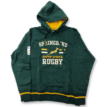 OFFICIAL south africa springboks rugby graphic hooded sweat [green]