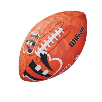 WILSON cincinnati bengals NFL team logo junior [orange]