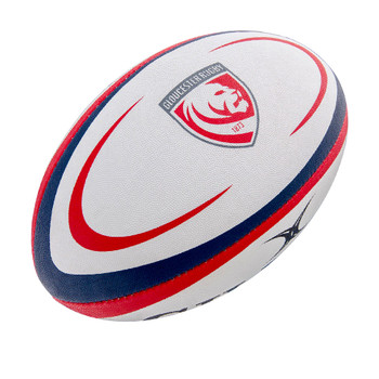 GILBERT gloucester lions mini rugby ball