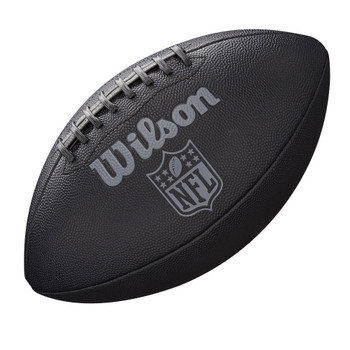 WILSON jet black NFL senior american football [black]