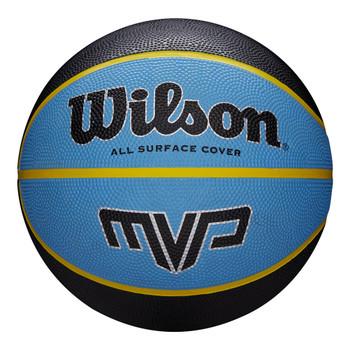 WILSON MVP mini basketball [black/blue]