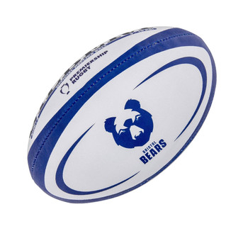 GILBERT Bristol Bears midi rugby ball [blue]