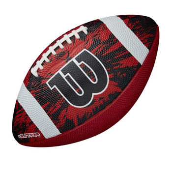 WILSON NFL deep threat junior american football [black/red]