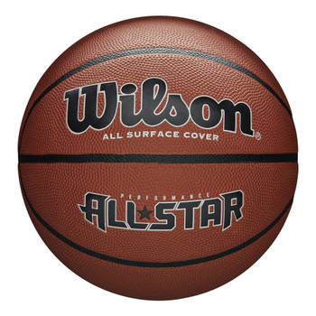 WILSON performance all star basketball [orange] - Size 7