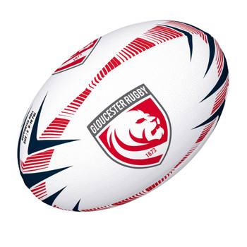 GILBERT Gloucester Lions Supporter Rugby Ball [size 5]