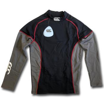 CCC baselayer cold long sleeve block design [black/grey]