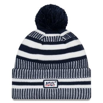 NEW ERA Los Angeles Rams NFL sport knit bobble hat [dark grey/white]