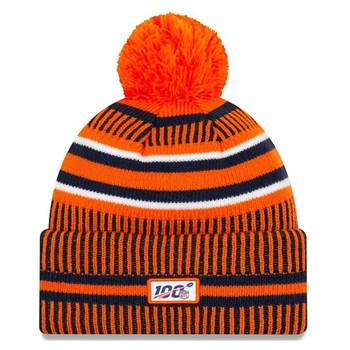 NEW ERA Denver Broncos NFL sport knit bobble hat [orange/navy/white]