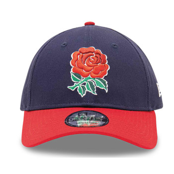 NEW ERA england rugby RFU 9forty adjustable cap [navy/red]