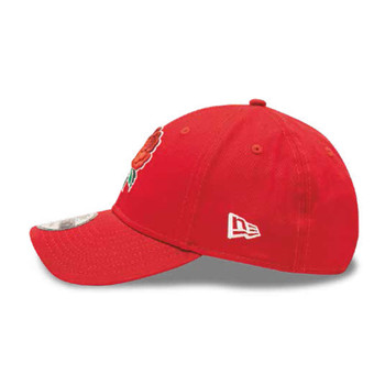 NEW ERA england rugby RFU 9forty adjustable cap [red]