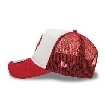 NEW ERA england rugby RFU adjustable trucker cap [white/red]