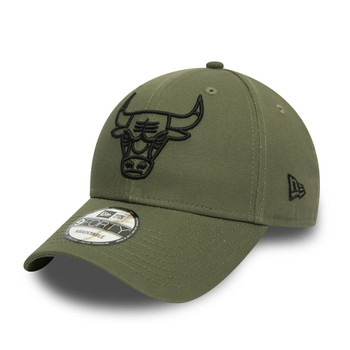 NEW ERA chicago bulls NBA 9forty outline cap [green]