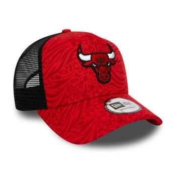 NEW ERA chicago bulls NBA hook trucker cap [red]