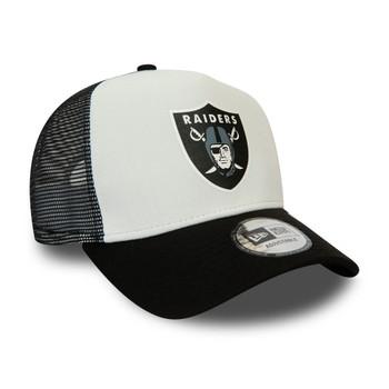 NEW ERA las vegas raiders block trucker cap [black/white]