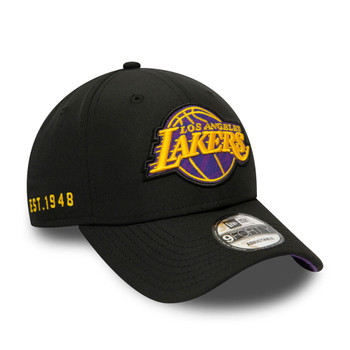 NEW ERA LA lakers NBA 9forty hook cap [black]