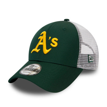 NEW ERA adjustable oakland athletics MLB 9forty trucker cap [green]