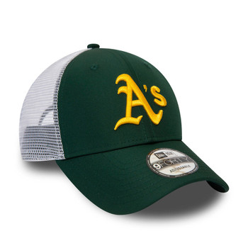 NEW ERA adjustable oakland athletics MLB 9forty trucker cap [green]