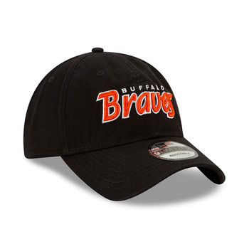 NEW ERA buffalo braves 9twenty adjustable NBA classic cap [black]