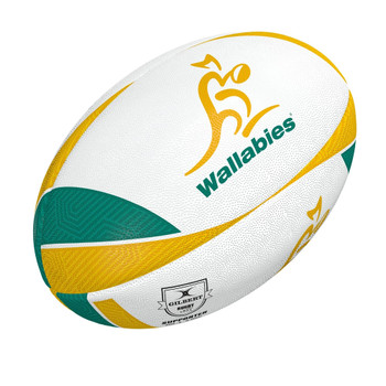 GILBERT australia wallabies supporter rugby ball