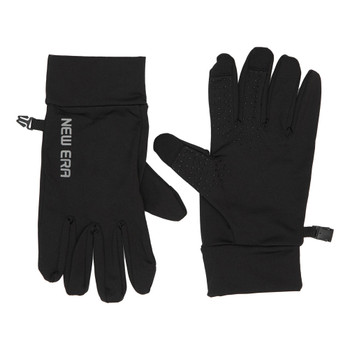 NEW ERA electronic touch cold weather gloves [black/grey] Small/Medium