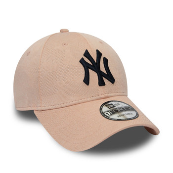 NEW ERA new york yankees 9forty adjustable baseball cap [blush/navy]