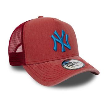NEW ERA new york yankees trucker adjustable baseball cap [aged red]