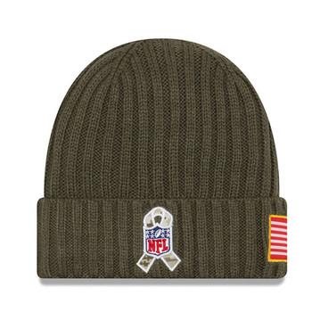 NEW ERA miami dolphins NFL military knit beanie hat Junior [khaki]