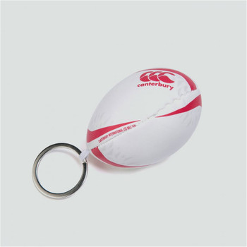 CCC british and irish lions rugby ball key ring [white]