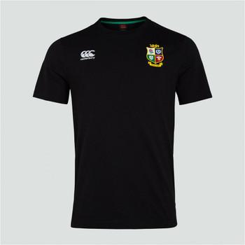 CCC british and irish lions cotton jersey tee [black]