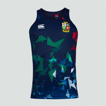 CCC british and irish lions poly singlet [navy]
