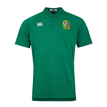 CCC british and irish lions rugby pique polo [green]