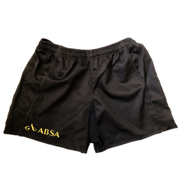 EGGCATCHER south africa performance training rugby shorts [black]