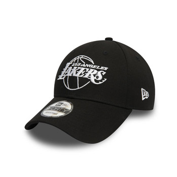 NEW ERA Los Angeles Lakers Outline 9FORTY cap [black]