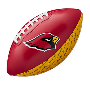 WILSON arizona cardinals NFL peewee [25cm] debossed american football