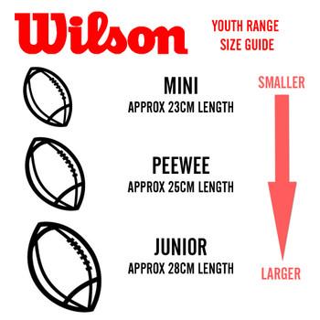 WILSON new york jets NFL peewee [25cm] debossed american football