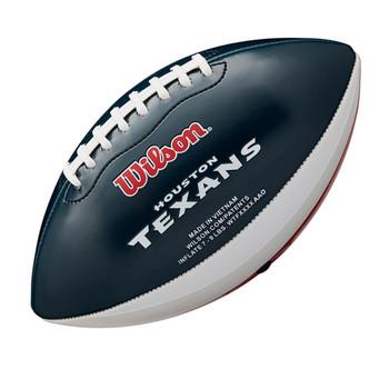 WILSON NFL houston texans peewee [25cm] debossed american football