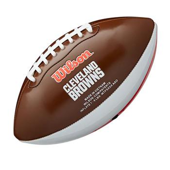 WILSON NFL cleveland browns peewee [25cm] debossed american football
