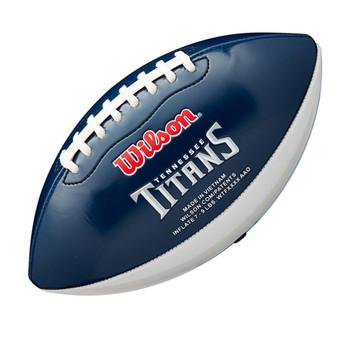 WILSON NFL tennessee titans peewee [25cm] debossed american football