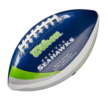 WILSON NFL seattle seahawks peewee [25cm] debossed american football